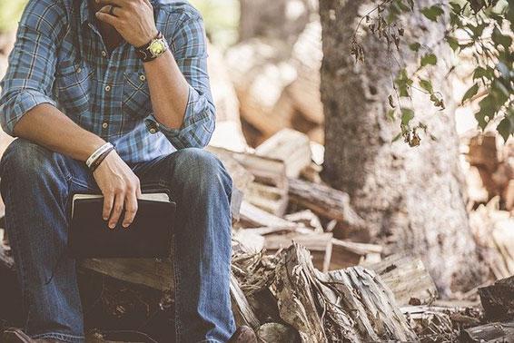 Hilfe bei Sorgen und Nachdenklichkeit